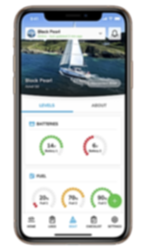 Sailsense boat monitoring battery