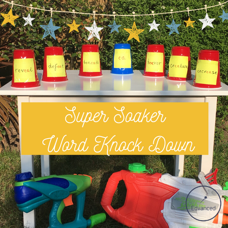 Super Soaker Word Knock Down
