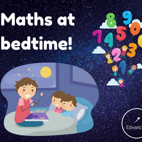 Bring some maths into the bedtime routine!