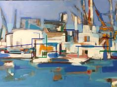 Sète , port de commerce n 2