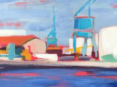 Sète , port de commerce n 5