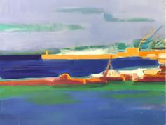 Sète, vue du port