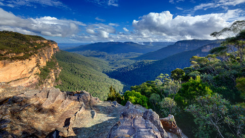 View from Wentworth Falls