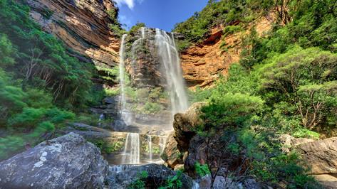 Wentworth Falls waterfall