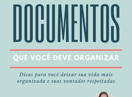 Documentos que você deveria organizar ao receber um diagnóstico de doença degenerativa.