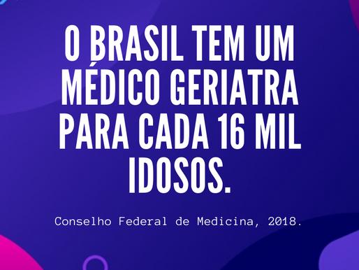 Faltam geriatras no Brasil