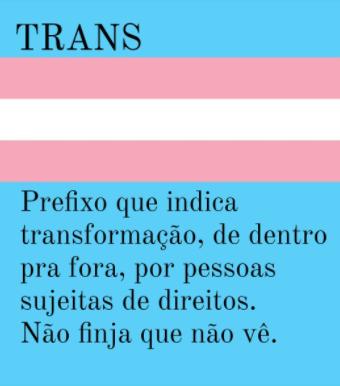 """De todas as """"letras"""" LGBTQI+, os trans e travestis são os que menos chegam na velhice"""