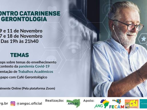 XI Encontro Catarinense de Gerontologia da ANG/SC