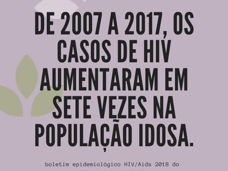 Aumenta o número de idosos com HIV