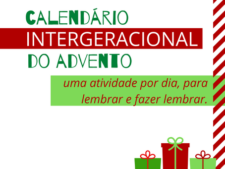Calendário Intergeracional do Advento