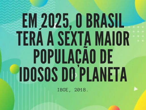 Brasil terá a sexta maior população idosa em 2025