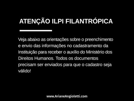 Atenção aos documentos para o auxílio financeiro às ILPI filantrópicas!