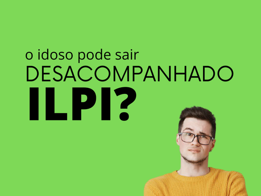 O idoso pode sair desacompanhado da ILPI?