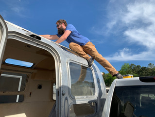 Airstreams antennae removal