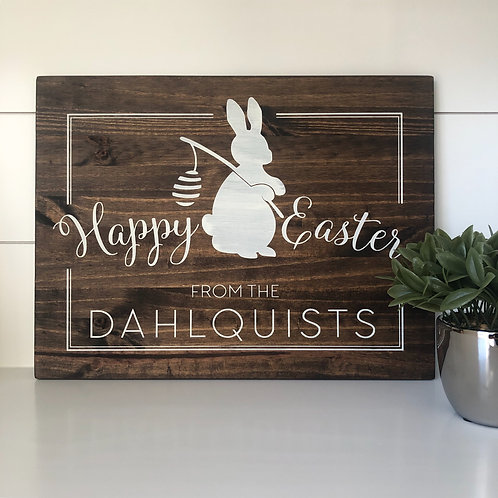 Happy Easter, From_ 12x16