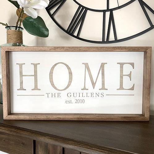 Home_Family Name 12x24
