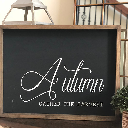 11oz Candle + Autumn- Gather the Harvest