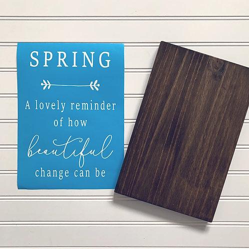 KIT- Spring