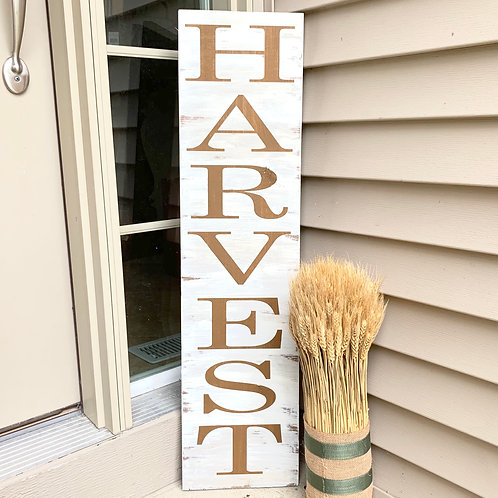 Candle or Lotion - Harvest, Porch Sign 3ft