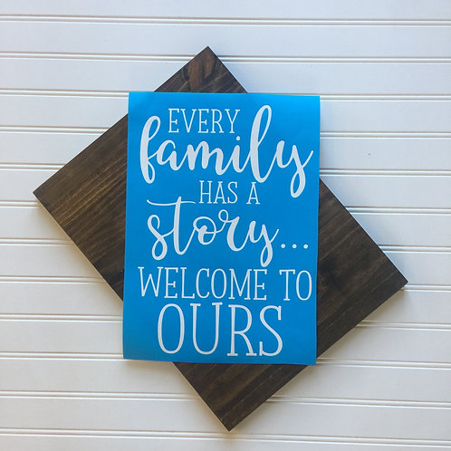 KIT- Every Family Has a Story