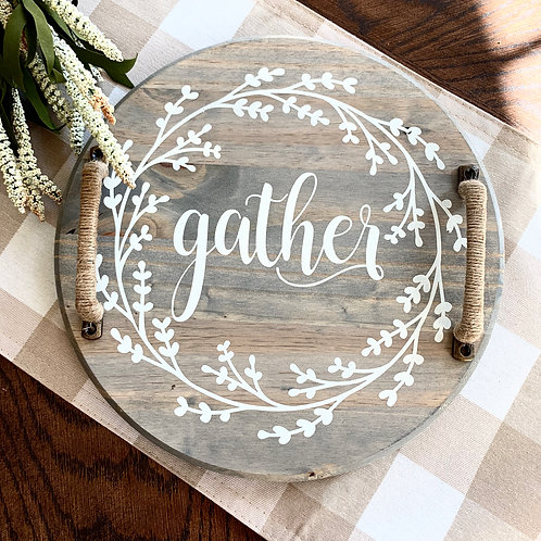 Mini- Gather Serving Tray- 12""
