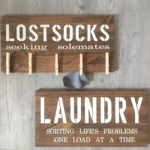 Set- Laundry Signs