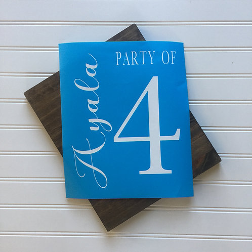Kit- Party of 5- 8x12