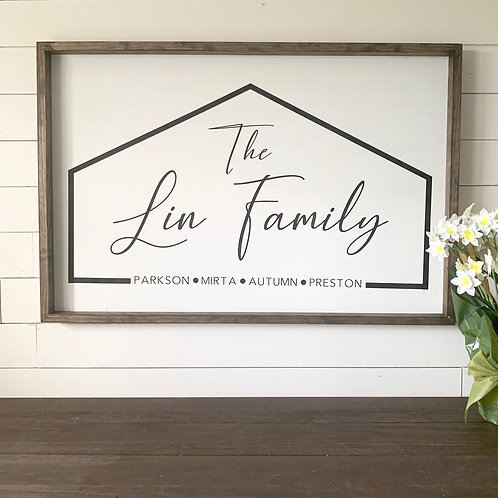 The__ Family 24x36
