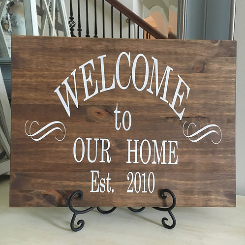 Welcome to Our Home Est.