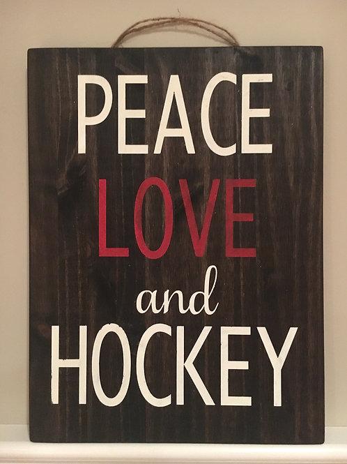 Peace, Love, and Hockey