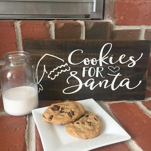 11oz + Cookies for Santa