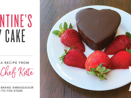 Chef Kate – Chocolate and Beetroot Cake infused with Orange Oil
