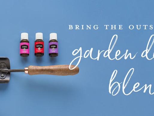 Bring the outside in with garden diffuser blends