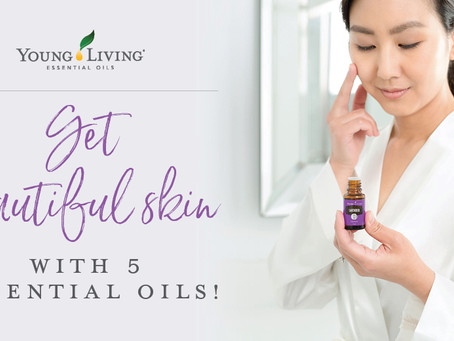 Get beautiful skin with 5 essential oils