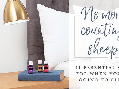 11 essential oils for when you're going to sleep