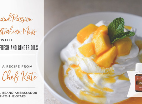 Mango Australian Mess with Citrus Fresh