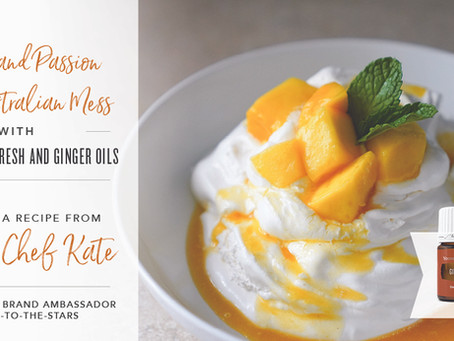 Mango Australian Mess with Citrus Fresh
