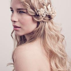 Best plaited wedding hair & flowers