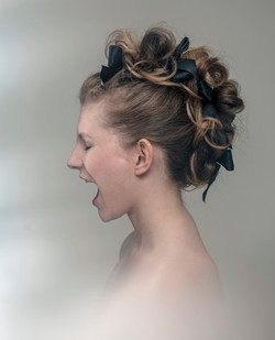 Unique wedding hair