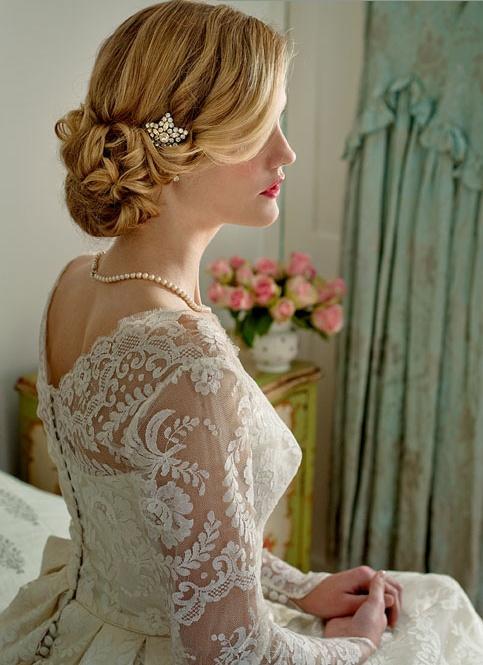 Best classic vintage glamour bridal