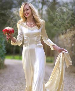 Classic vintage glamour wedding