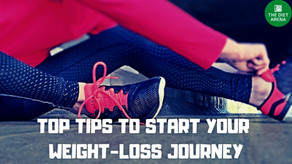 8 TOP TIPS TO START YOUR WEIGHT-LOSS JOURNEY