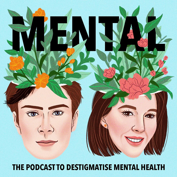 Mental Podcast by Bobby Temps Cover Art.