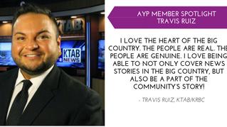 Travis Ruiz YP Member Spotlight - May