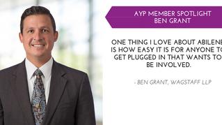 Ben Grant YP Member Spotlight - Dec