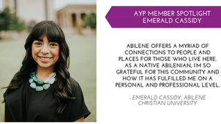 Emerald Cassidy YP Member Spotlight - Oct.