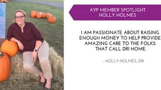 Holly Holmes YP Member Spotlight - Dec