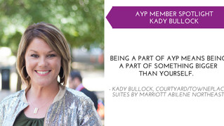 Kady Bullock AYP Member Spotlight - Oct.