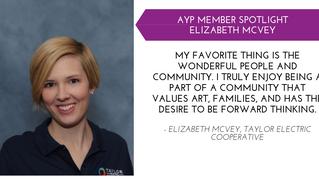 Elizabeth McVey YP Member Spotlight - Sept.
