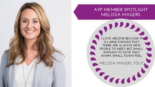 Melissa Magers Member Spotlight - Sept